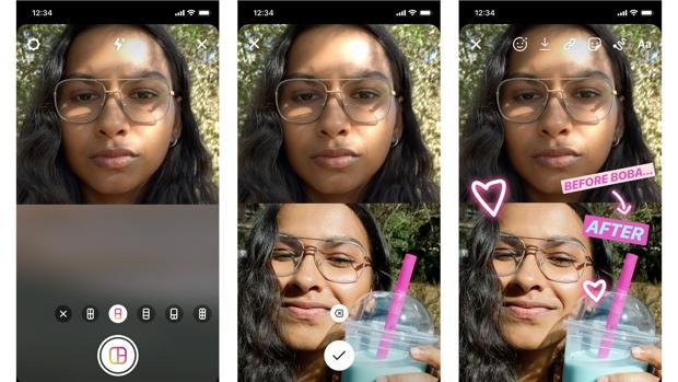 El truco para subir varias fotos a una Story de Instagram