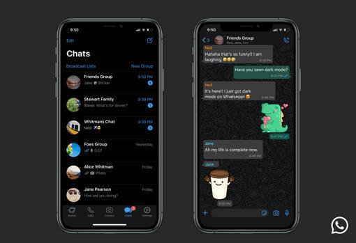 Modo oscuro: la funcionalidad más esperada de WhatsApp