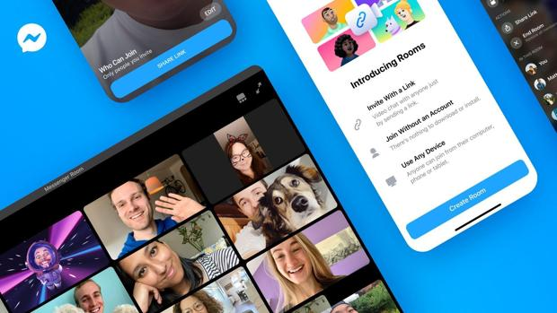 Así es Messenger Rooms: la alternativa de Facebook a Zoom con videollamadas de hasta 50 personas