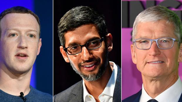 Prueba de fuego para Amazon, Apple, Google y Facebook: sus jefes testifican por posible monopolio