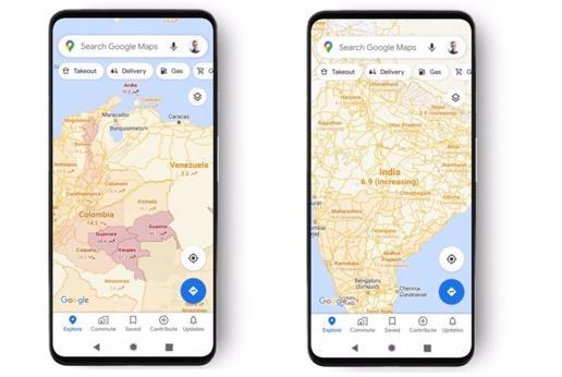 Google Maps lanza una nueva herramienta para informar sobre los casos de Covid-19