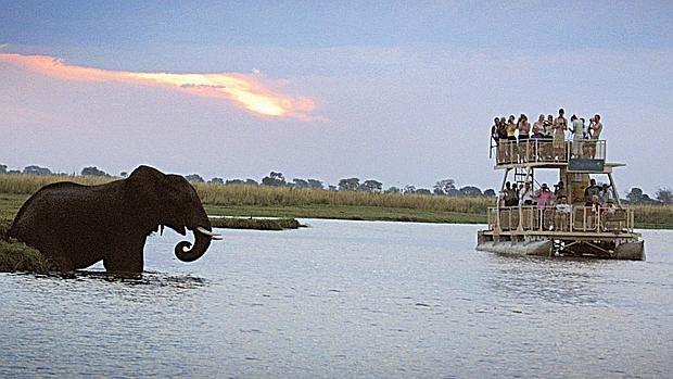 Chobe River, Kasane, Botsuana
