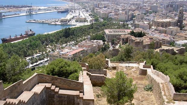Málaga visto desde Gibralfaro