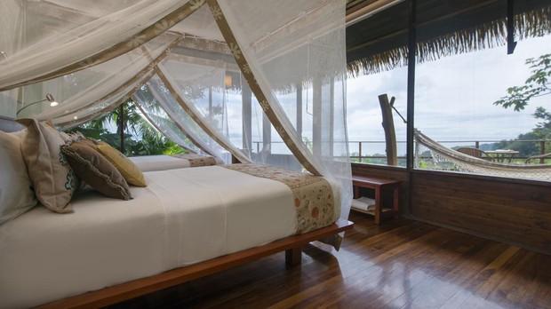 Una habitación en Lapa Rios Lodge