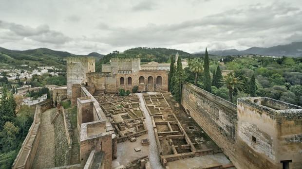 Una de las imágenes tomadas por Fernando Manso en Granada