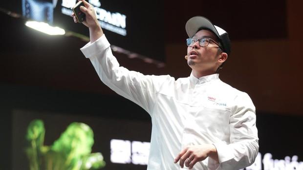 Anthony Myint, chef de The Perennial, restaurante de San Francisco