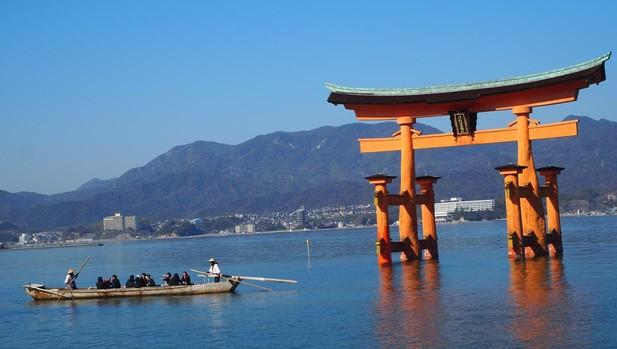 Santuario Itsukushima, Patrimonio Mundial de la Unesco