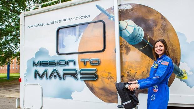 Alyssa Carson, preparada para su misión a Marte