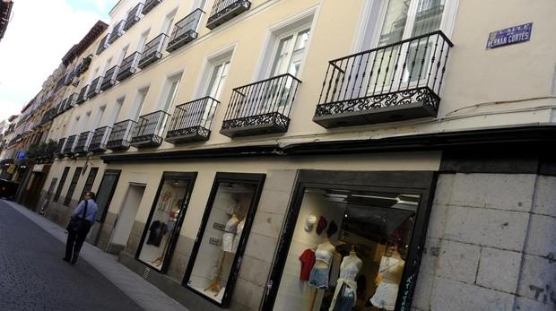 La calle de Hernán Cortés que une Fuencarral y Hortaleza
