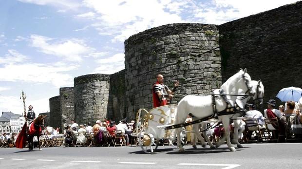 La única muralla romana del mundo cuyo perímetro se conserva intacto